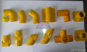 frp round square fitting