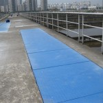 FRP covered grating
