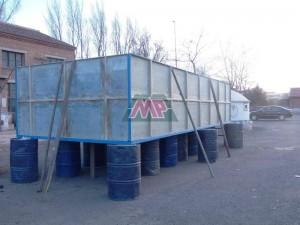 frp/grp aquaculture tanks