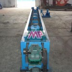 Cable casing pipe trimming machine