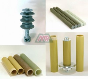 electric insulator core rod