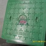 locked manhole cover