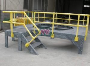 FRP Work Station Platform