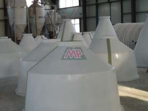 FRP Feeding Silo top