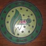 villa manhole cover