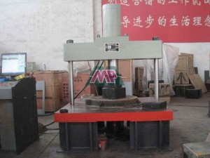 grp manhole cover testing machine