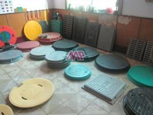 grp manhole showroom