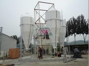fiberglass silo
