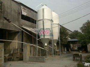frp poultry feeding silo