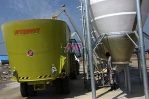 fiberglass feeding equipment silo