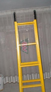 fiberglass foldable ladder
