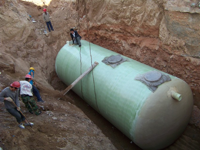 Fiberglass Septic Tank Is The Best Choice For Underground