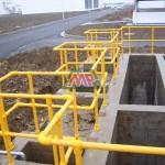 frp handrail round tube