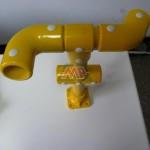 composite handrail tubes