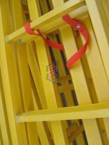 fiberglass double side ladder