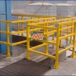 frp handrail square tube