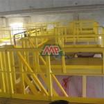 fiberglass  handrail  square tube