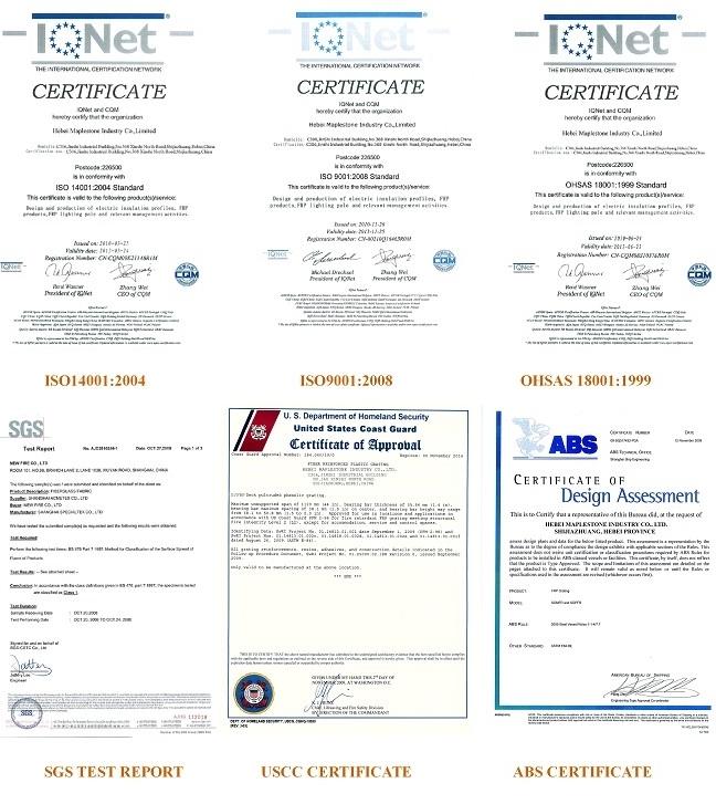 frp certification