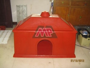 FRP Heating box for livestock/