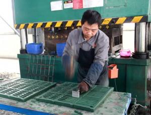 slatted floor processing