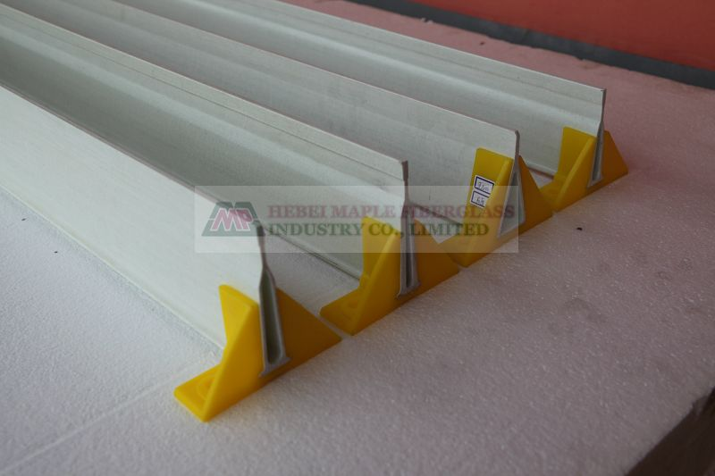 Fiberglass support beams