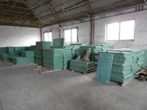 slatted floor warehouse
