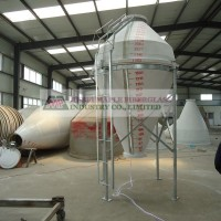 In recent year's fiberglass silos have become a popular choice instead of steel.