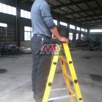 Fiberglass Access Ladder Designed With Standard,Cage and Walk-Through Top