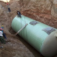 Fiberglass Septic Tank Is The Best Choice For Underground Waste-Water Treatment